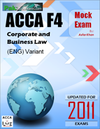 F4 Corporate and Business Law - PakAccountants com