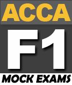 FREE ACCA F1 Mock Exam (Paper Based) - PakAccountants com