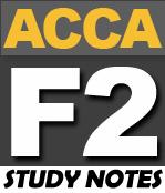 FREE ACCA F2 Study Notes - PakAccountants com