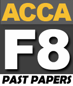 ACCA F8 Past Papers - PakAccountants com