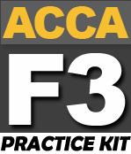 FREE ACCA F3 Practice KIT - PakAccountants com