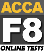 FREE ACCA F8 Online Tests - PakAccountants com