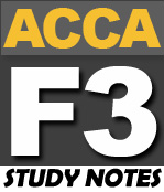 FREE ACCA F3 Study Notes - PakAccountants com