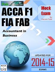ACCA F1 Mock Exam