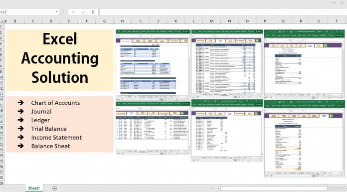 Excel tips tutorials formulas charts pivot tables all excel accounting and bookkeeping solution template ccuart Choice Image